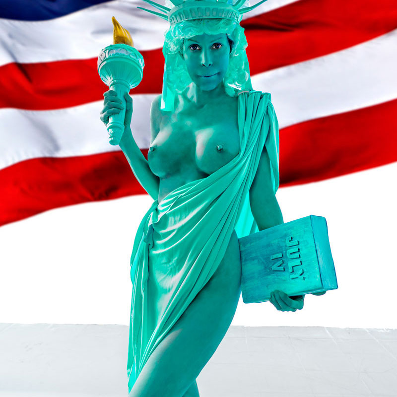 statue of liberty porn