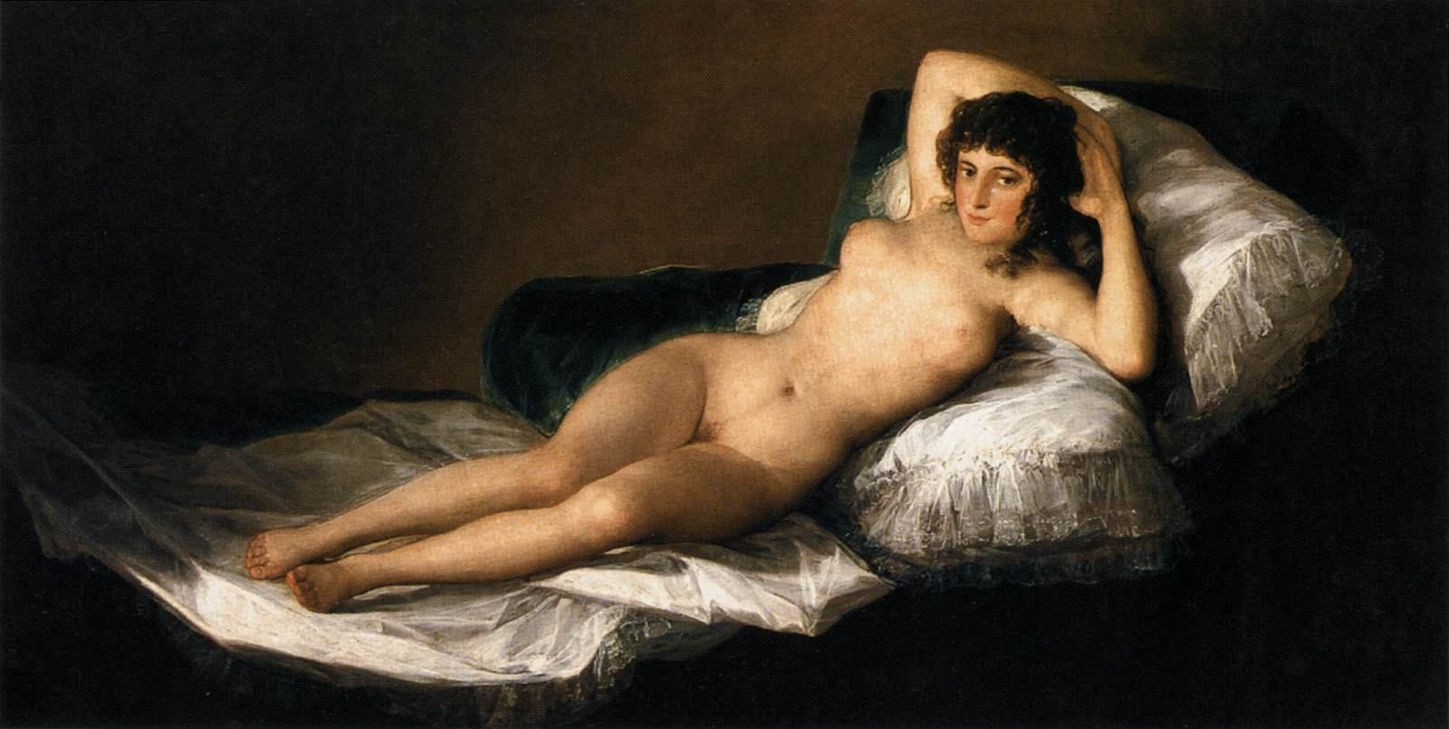 Naked Maja by Francisco Goya