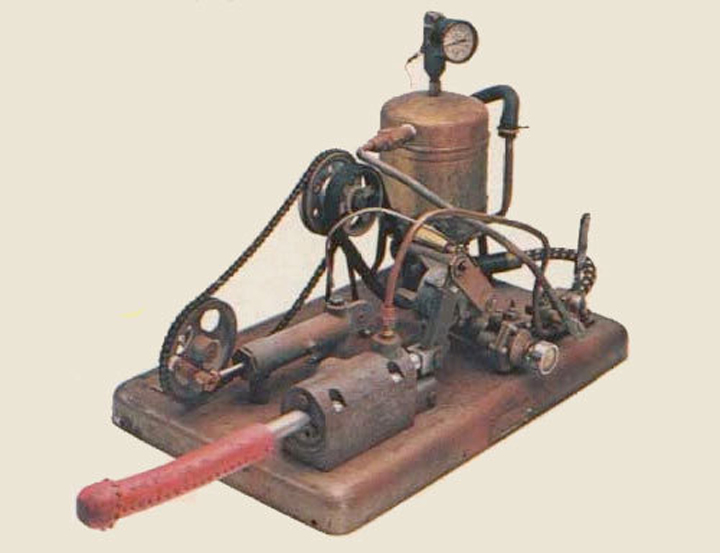 Steam powered vibrator