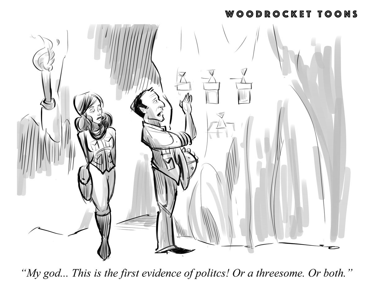 WoodRocket Toons: Politics