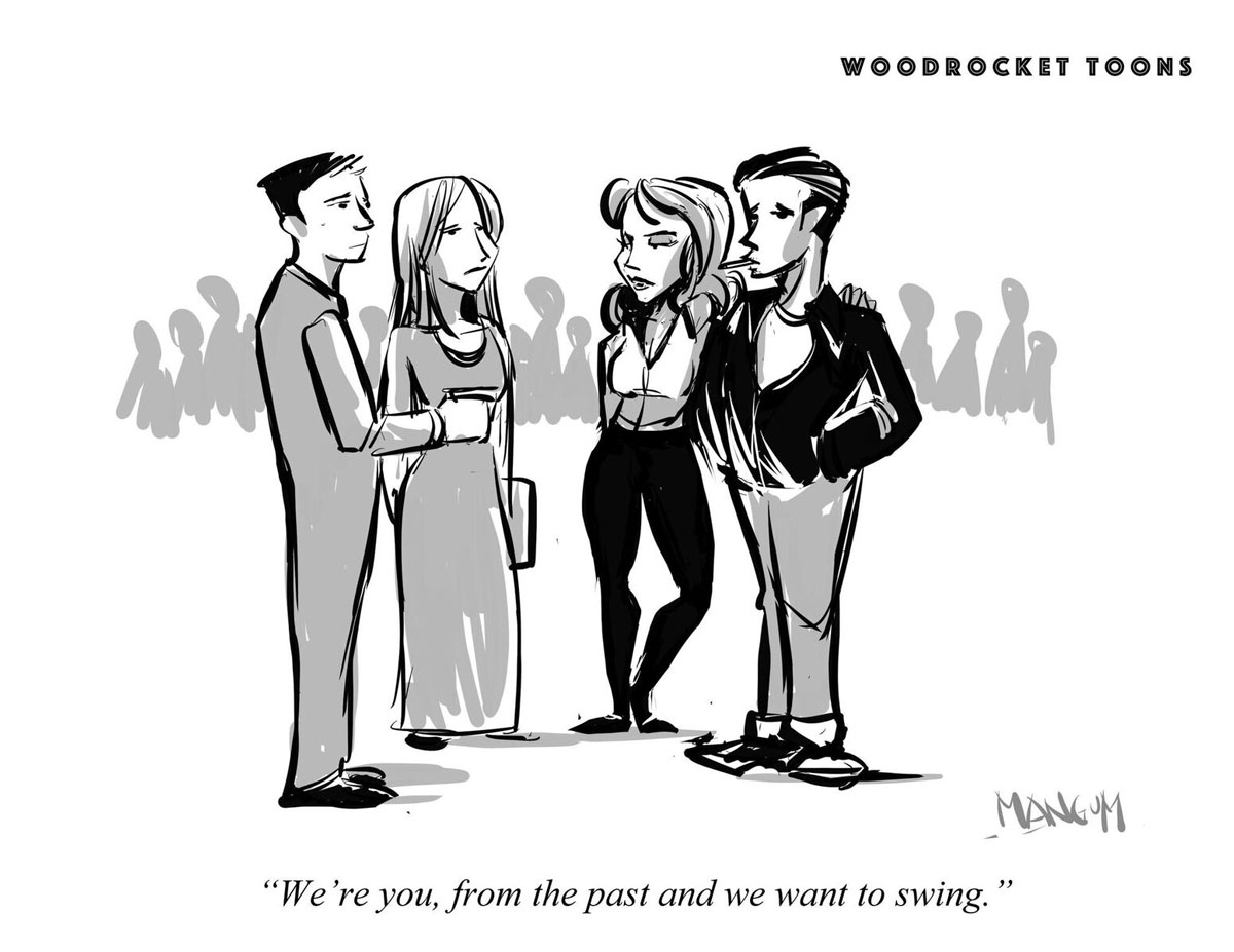 WoodRocket Toons: Past You